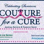 Couture for a Cure, Cancer Survivors, Newburyport