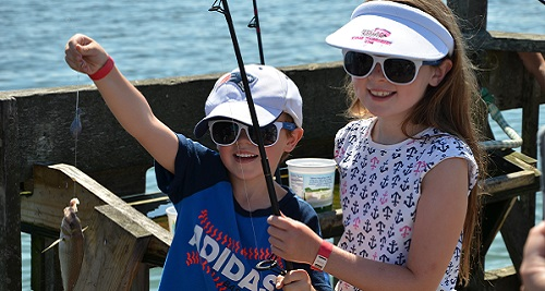 Cashman Park Youth Fishing Clinic