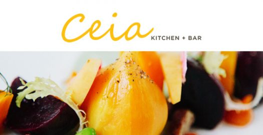 Farm to Table, Dining, Ceia Kitchen + Bar, Newburyport