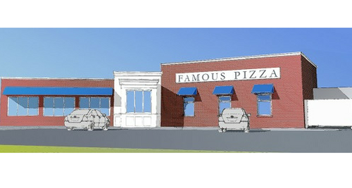Famous Pizza Renovation, Newburyport MA