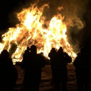 Old Newbury Bonfire, Newbury MA