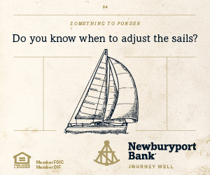 Newburyport Bank Do you know when to adjust the sails?
