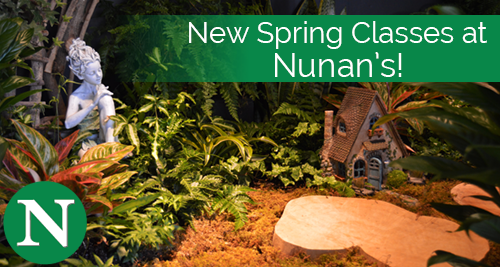 Nunan's Spring Floral Design Classes, Georgetown MA