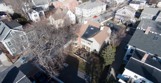 62 Middle Street, Newburyport, MA - Aerial Backyard