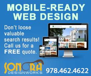 Sonora Design Works, Web Design & Development, Newburyport MA