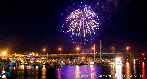 Yankee Homecoming Fireworks, Newburyport