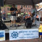 Live music in Market Square, Newburyport MA