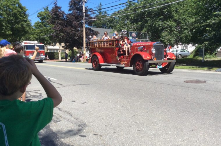 Yankee Homecoming Parade 2015, Newburyport MA