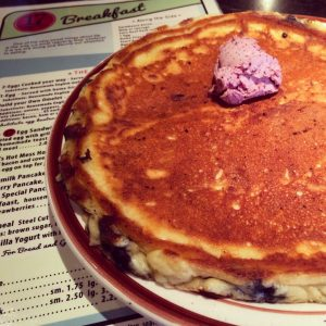 Blueberry Pancakes from 17 State Street Cafe in Newburyport, Massachusetts