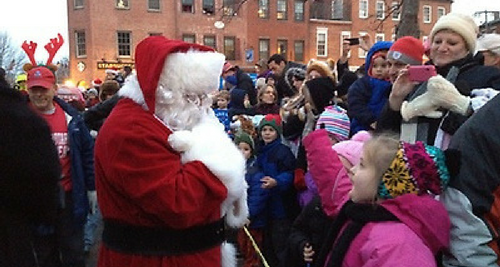 Newburyport Santa Parade & Tree Lighting