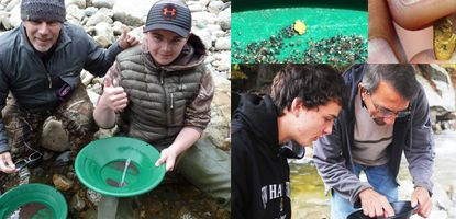 Find Gold with American Gold Prospecting Adventures